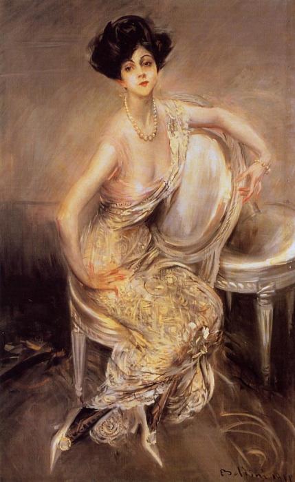 Портрет Риты де Акоста Лидиг, 1911 год. Автор: Giovanni Boldini.
