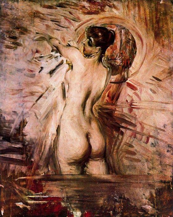 В ванной. Автор: Giovanni Boldini.