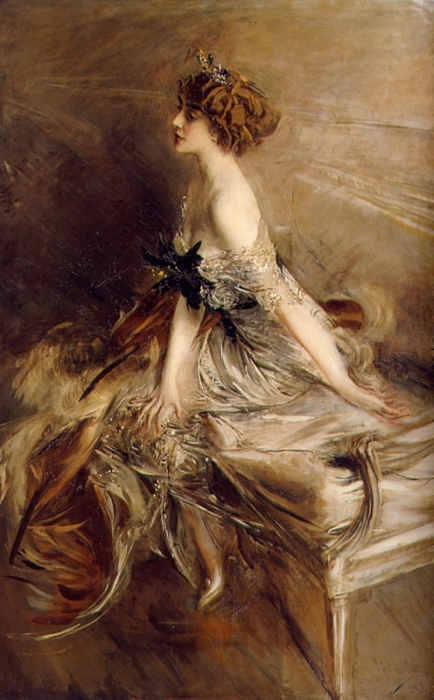 Портрет княгини Марты-Лючии Бибеско, 1911 год. Автор: Giovanni Boldini.