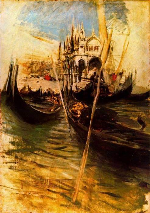 Сан-Марко в Венеции, 1895 год. Автор: Giovanni Boldini.