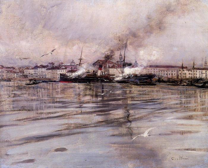 Венеция, 1895 год. Автор: Giovanni Boldini.