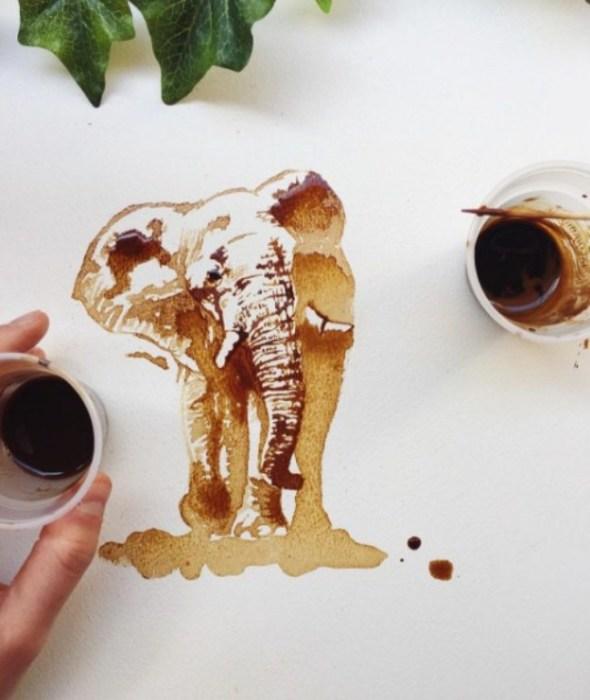 Слон. Автор Giulia Bernardelli.