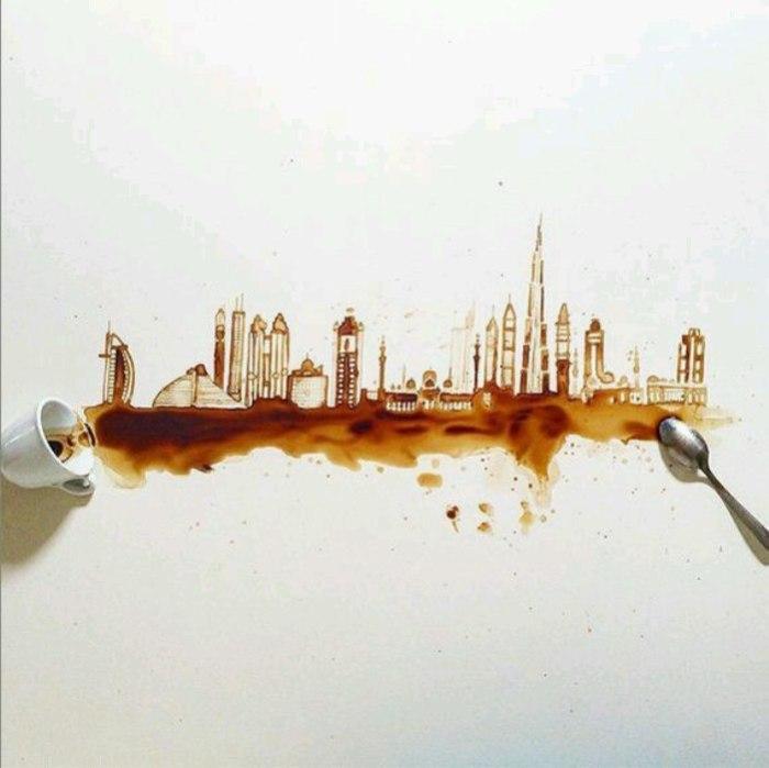 Кофейные города. Автор Giulia Bernardelli.