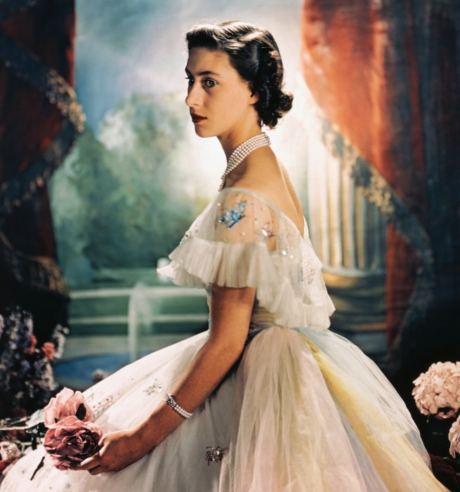 Принцесса Маргарет, август 1949 год. \ Фото: stylebistro.com.
