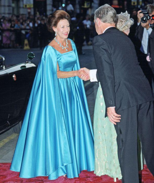Принцесса Маргарет, июль 1990 год. \ Фото: townandcountrymag.com.