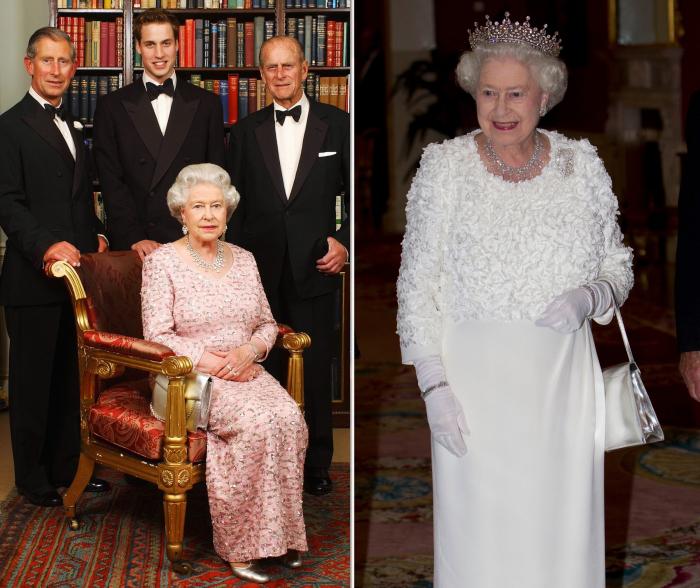 Слева: Королева Елизавета II, 2003 год. \ Справа: Королева Елизавета II, 2011 год. \ Фото: thedelite.com.