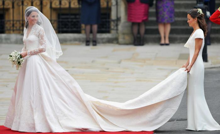Герцогиня Кембриджская, апрель 2011 год. \ Фото: thescottishsun.co.uk.