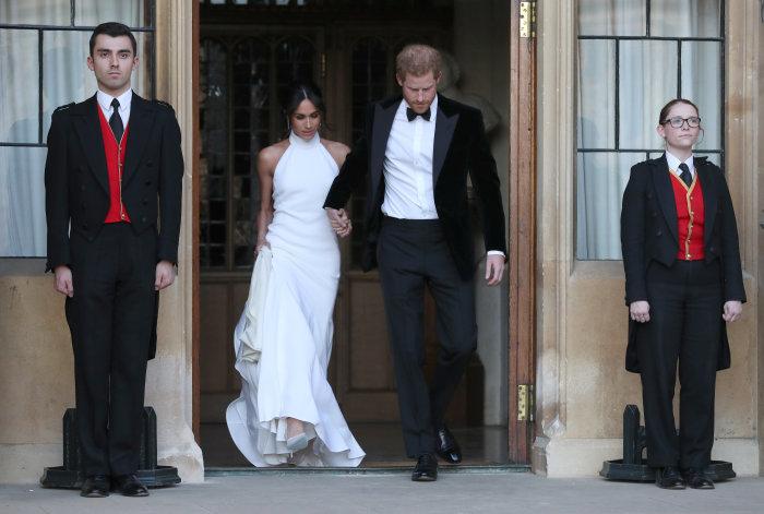 Герцогиня Сассекс, май 2018 год. \ Фото: 218tv.net.