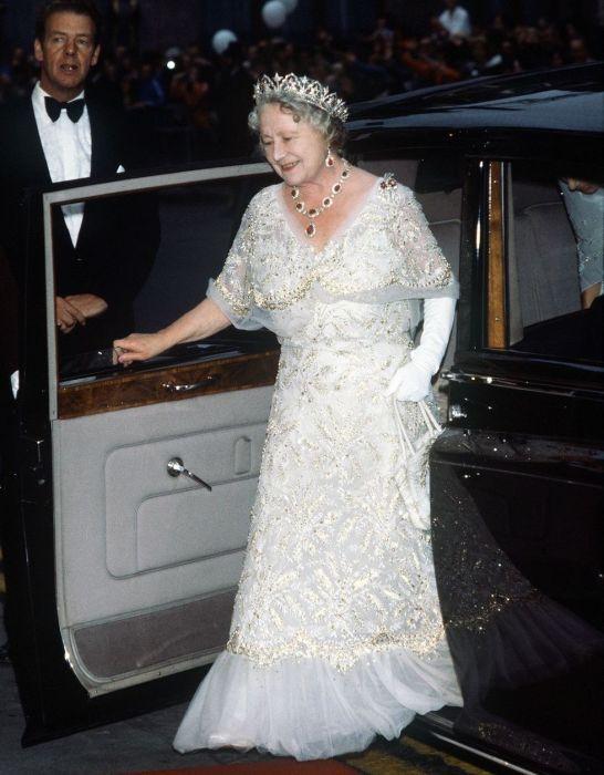 Королева-мать, август 1980 год. \ Фото: telegrafi.com.