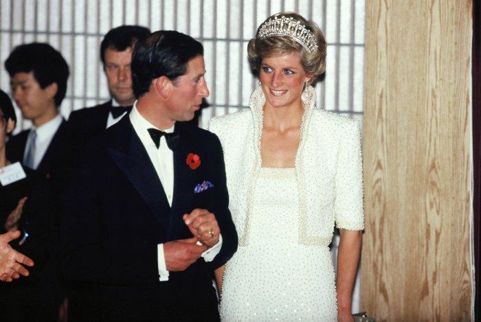 «Платье Элвиса»: Принцесса Диана, ноябрь 1989 год. \ Фото: hmoney.com.