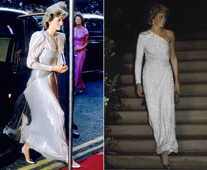 Слева: Принцесса Диана, июнь 1985 год. \ Справа: Принцесса Диана, ноябрь 1985 год. \ Фото:<br>google.com.