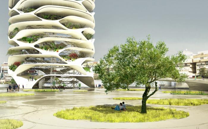 Gran Mediterraneо - дом будущего от бельгийского архитектора Дэвида Тейхмана (David Teyhman).