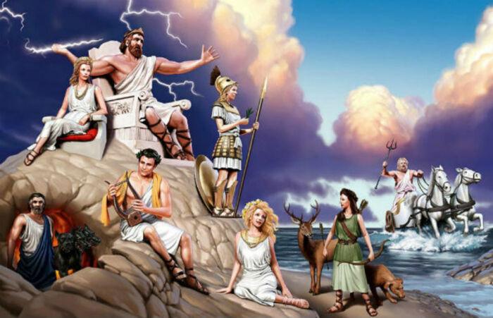 Боги Олимпа. \ Фото: google.com.