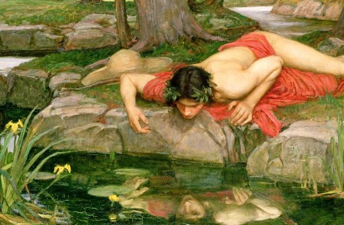 Миф о Нарциссе. \ Фото: surbzoravor.am.