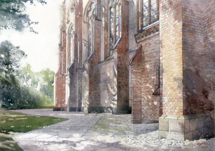 Церковь в Войцехе. Автор: Grzegorz Wrobel.