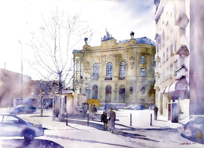Университет. Автор: Grzegorz Wrobel.