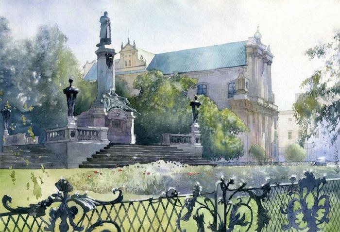 Где-то в Варшаве. Автор: Grzegorz Wrobel.