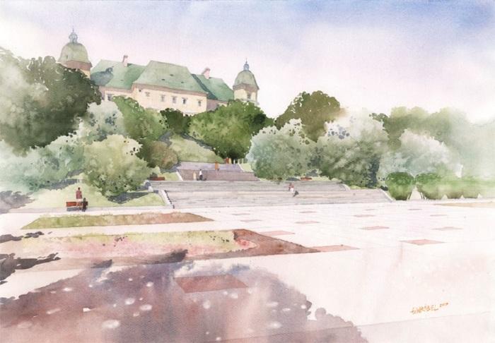 Уяздовский замок. Автор: Grzegorz Wrobel.