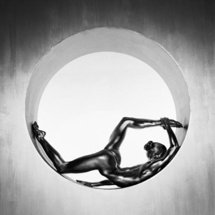 Живые статуи. Автор работ: Гвидо Арджентини (Guido Argentini).