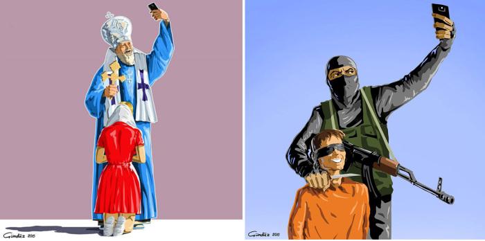 «Святые селфи». Автор: Gunduz Agayev.