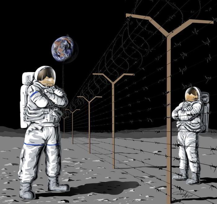 Проблемы только в нашей голове, а не в среде существования. Автор: Gunduz Agayev.