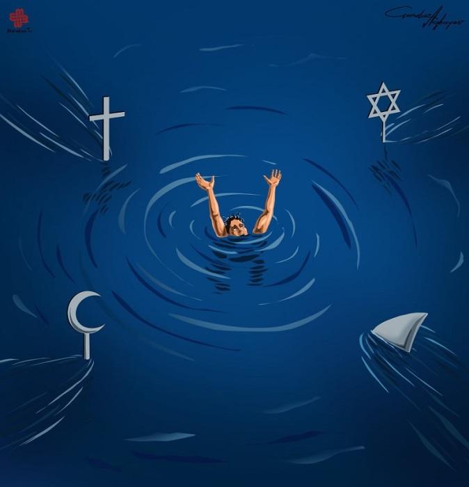 Религия и нынешний мир. Автор: Gunduz Agayev.