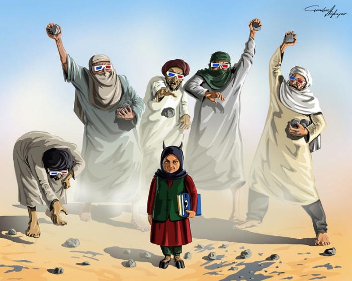 Нам сложно поверить, что все ужасы, о которых говорят в новостях, это наша реальность, а не кассовый боевик. Автор: Gunduz Agayev.