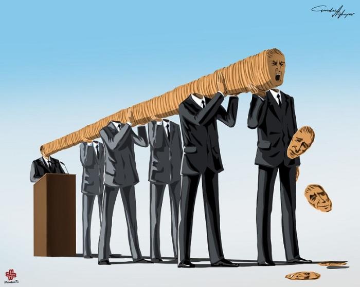 Яркое доказательство того, что не стоит слепо верить политикам. Автор: Gunduz Agayev.