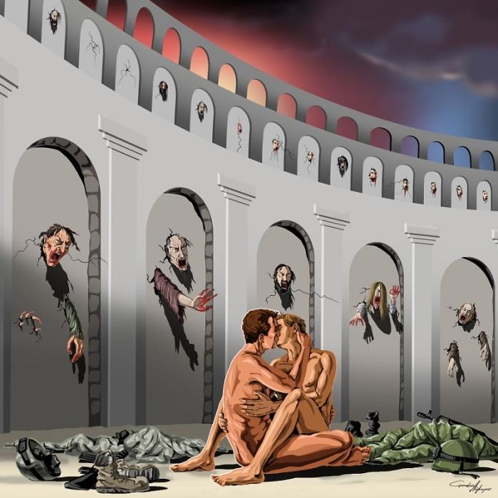 Стереотипы, которые нам навязали, не дают быть теми, кто мы есть. Автор: Gunduz Agayev.