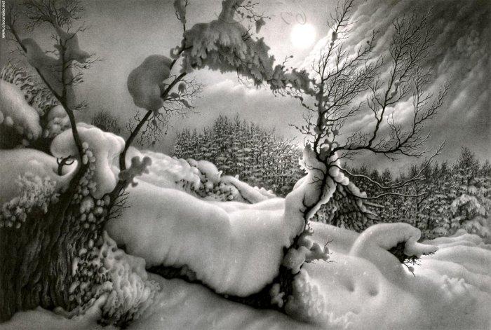 Лунные ночи Имеретии. Вариант 3. Автор: Гурам Доленджашвили.
