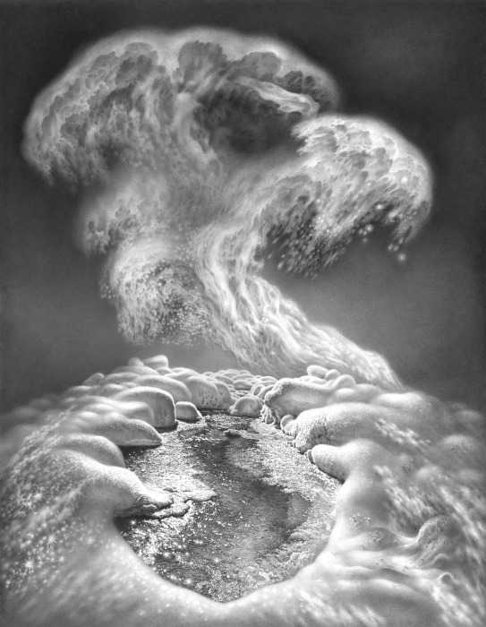 Симфония зимы. Вариант 3. Автор: Гурам Доленджашвили.