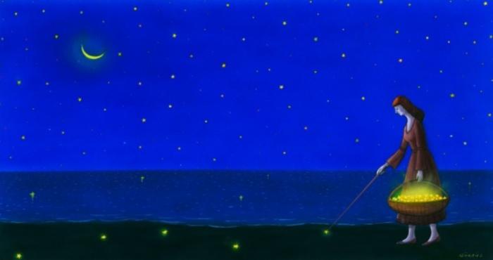 Собирая звёзды. Автор: Гурбуз Доган Эксиоглу (Gurbuz Dogan Eksioglu).