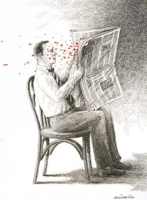 Новость. Автор: Гурбуз Доган Эксиоглу (Gurbuz Dogan Eksioglu).