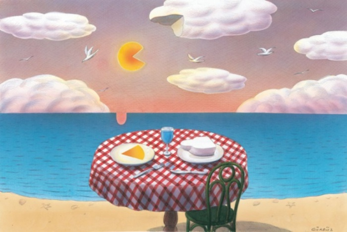 Завтрак у моря. Автор: Гурбуз Доган Эксиоглу (Gurbuz Dogan Eksioglu).