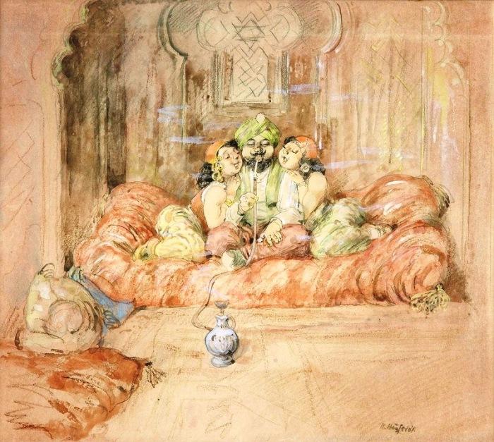 Султан. Автор: Gustav Robert Hogfeldt.