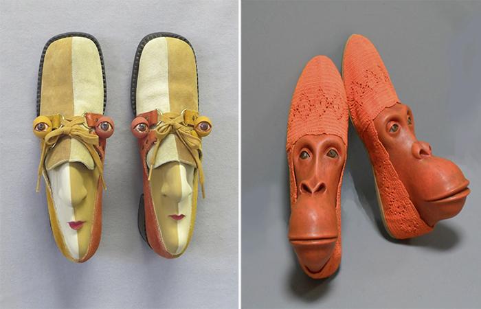 Обувь с характером: Эмоциональные работы американской художницы