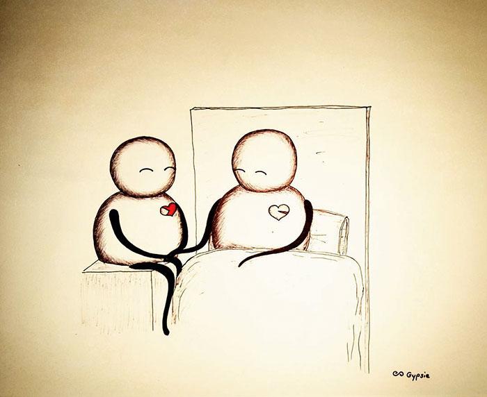 Тот самый момент, когда сердце становится одним на двоих. Автор: Gypsie Raleigh.