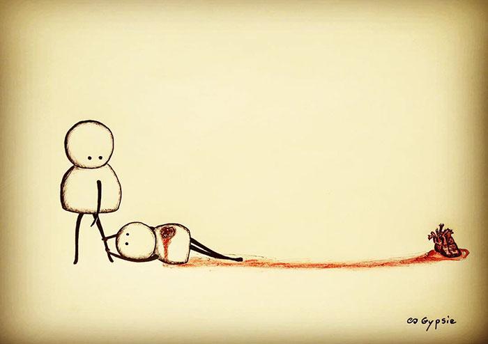Безответная любовь убивает. Автор: Gypsie Raleigh.