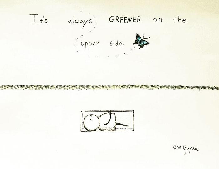 История о бабочках в животе. Автор: Gypsie Raleigh.