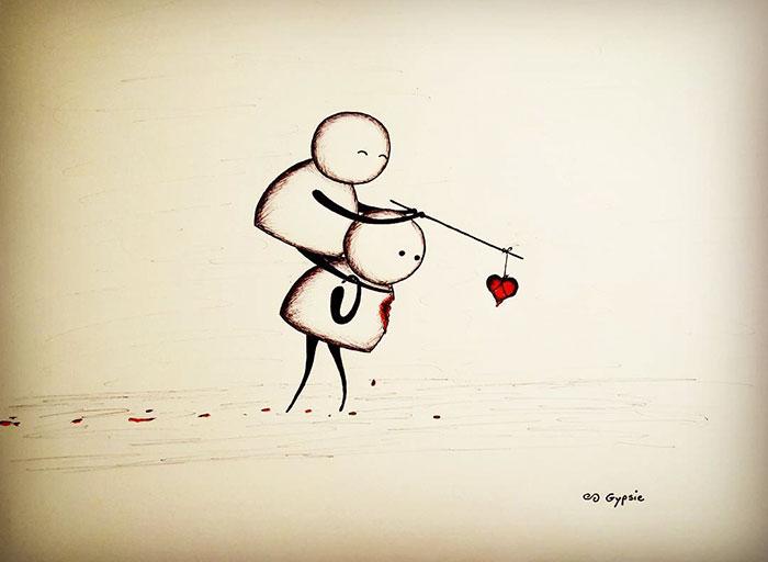 Влюблённый романтик, или история о безответной любви. Автор: Gypsie Raleigh.