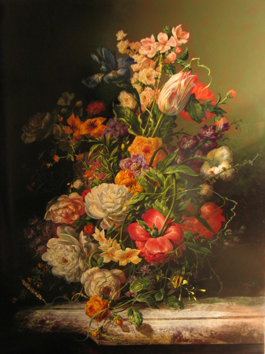 Аромат цветов. Автор: Gyula Siska.