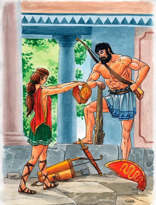 Пояс Ипполиты. \ Фото: blogspot.com.