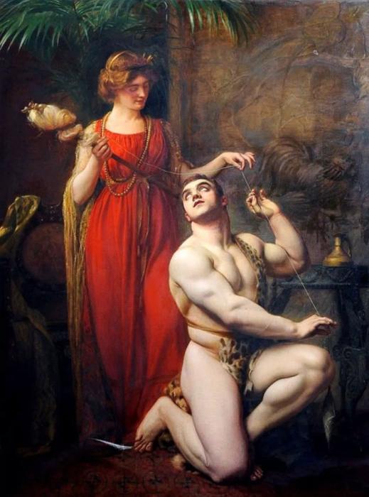 Геркулес и Омфала. \ Фото: recipemama.xyz.