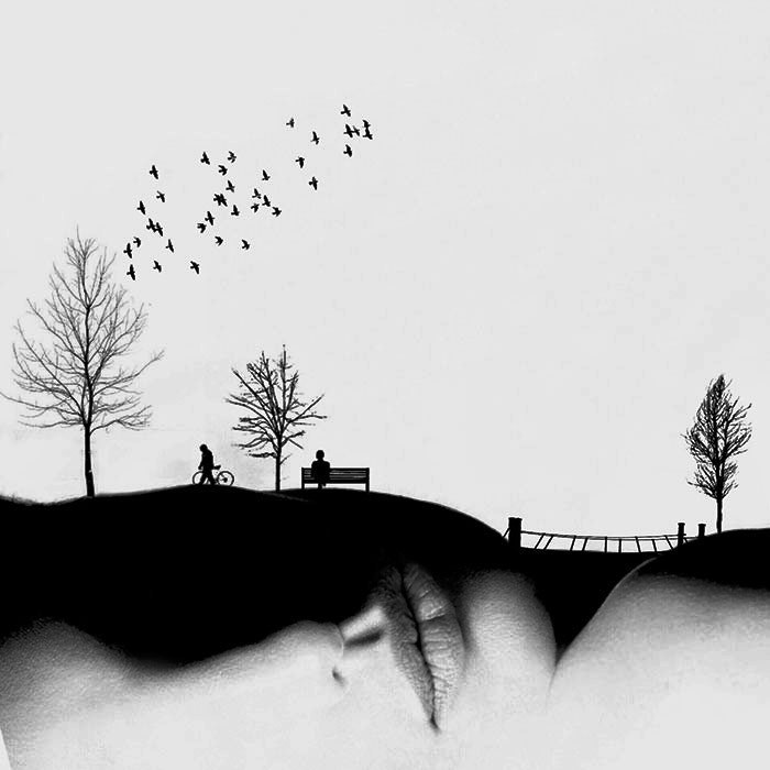 В парке. Автор: Hadi Malijani.