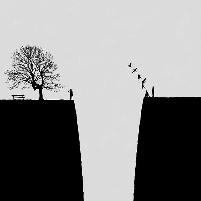 Два края одной пропасти. Автор: Hadi Malijani.