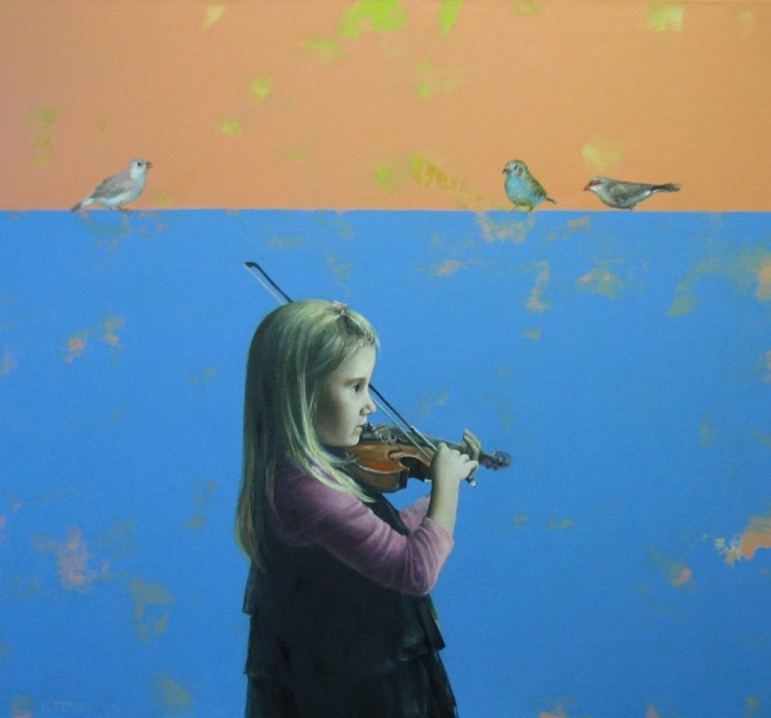 Волшебная мелодия. Автор: Halina Tymusz.