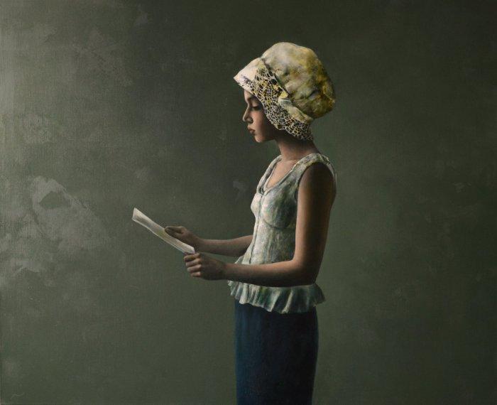 Письмо. Автор: Halina Tymusz.
