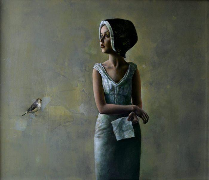 Девушка. Автор: Halina Tymusz.