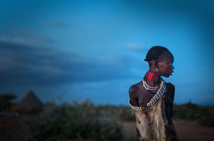 Женщина из племени Хамер.