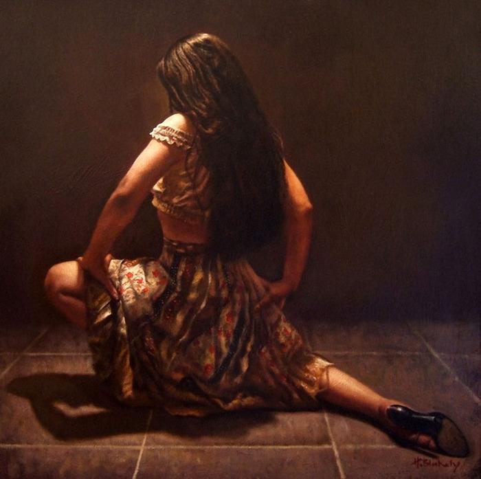 Растворяясь в танце. Автор: Hamish Blakely.